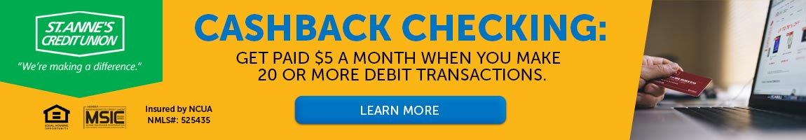 Cash Back Checking